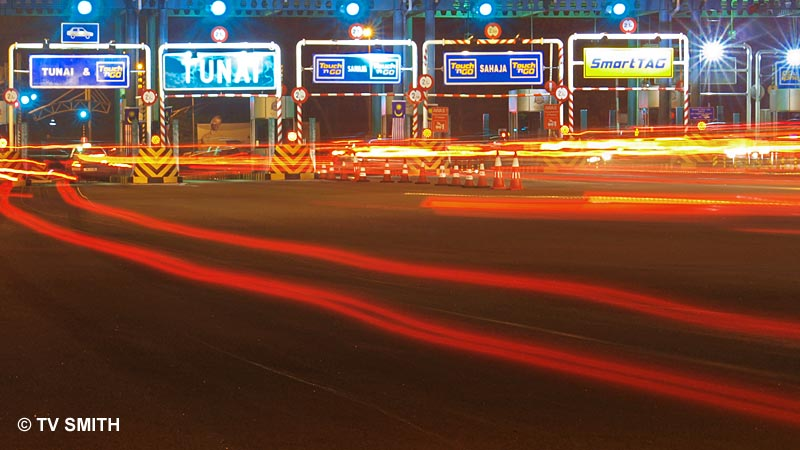 The Balik Kampung Light Show