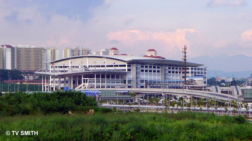 TBS as seen from the new road linking the Sungai Besi Expressway