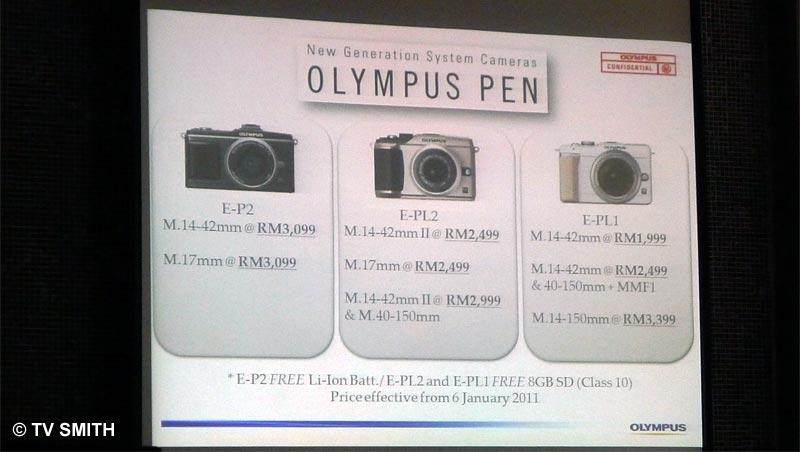 Olympus PEN Price in Malaysia