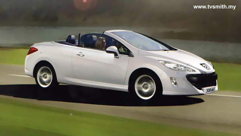 308 CC: Combination of luxurious features with sporty design