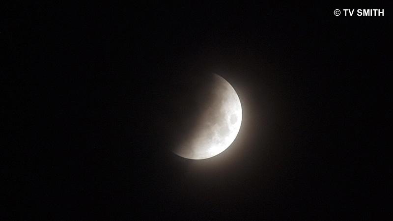 2:53 am Malaysian Time: Half Eclipse
