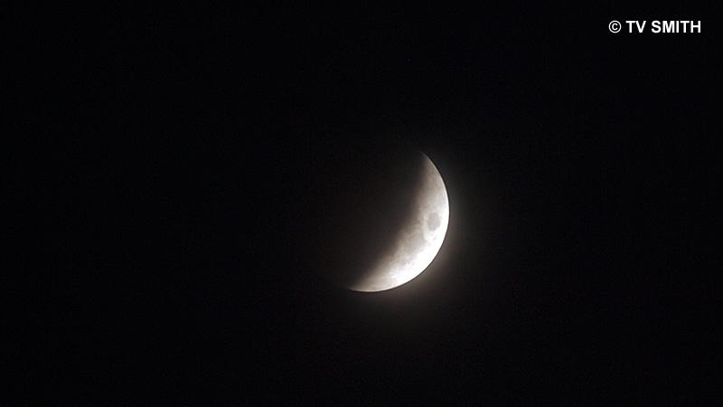 2:53 am Malaysian Time: Three-Quarter Eclipse