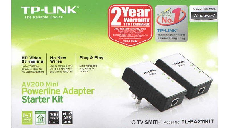 TP-Link's AV200 Mini Powerline Twin Kit