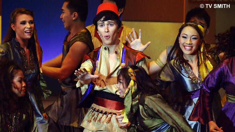 Joshua Tonks as Aladdin