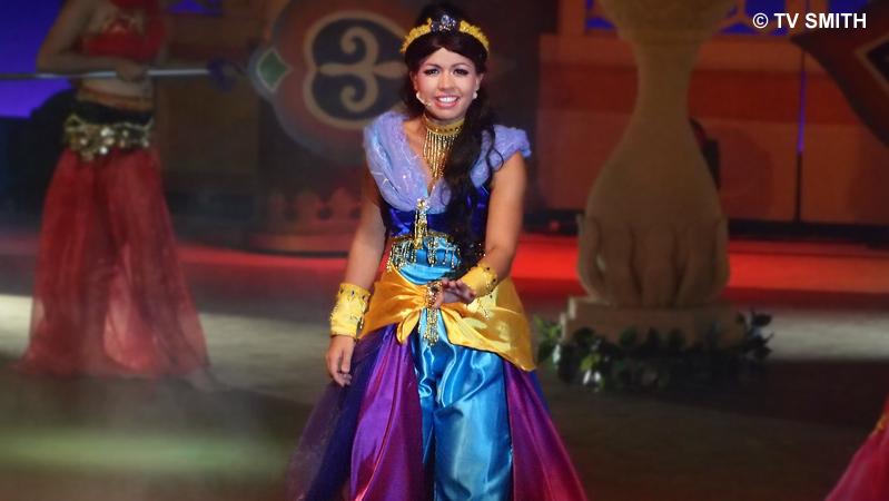 Nikki Mae is Princess Jasmine