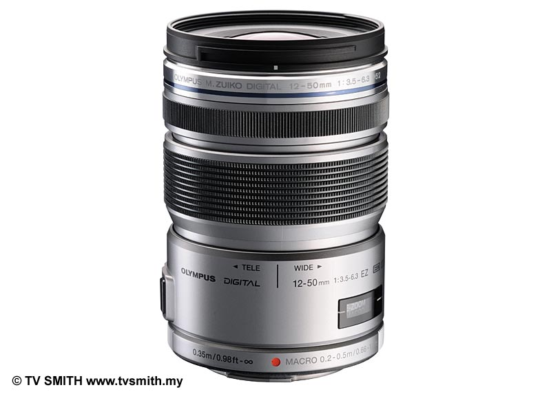 The New Olympus M.Zuiko ED 12 to 50mm Zoom Lens - Silver Version