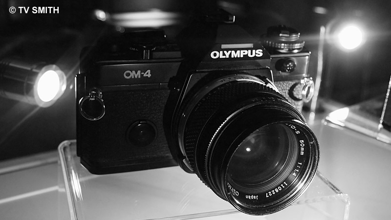 The new OM-D is inspired by the original OM-4 film camera