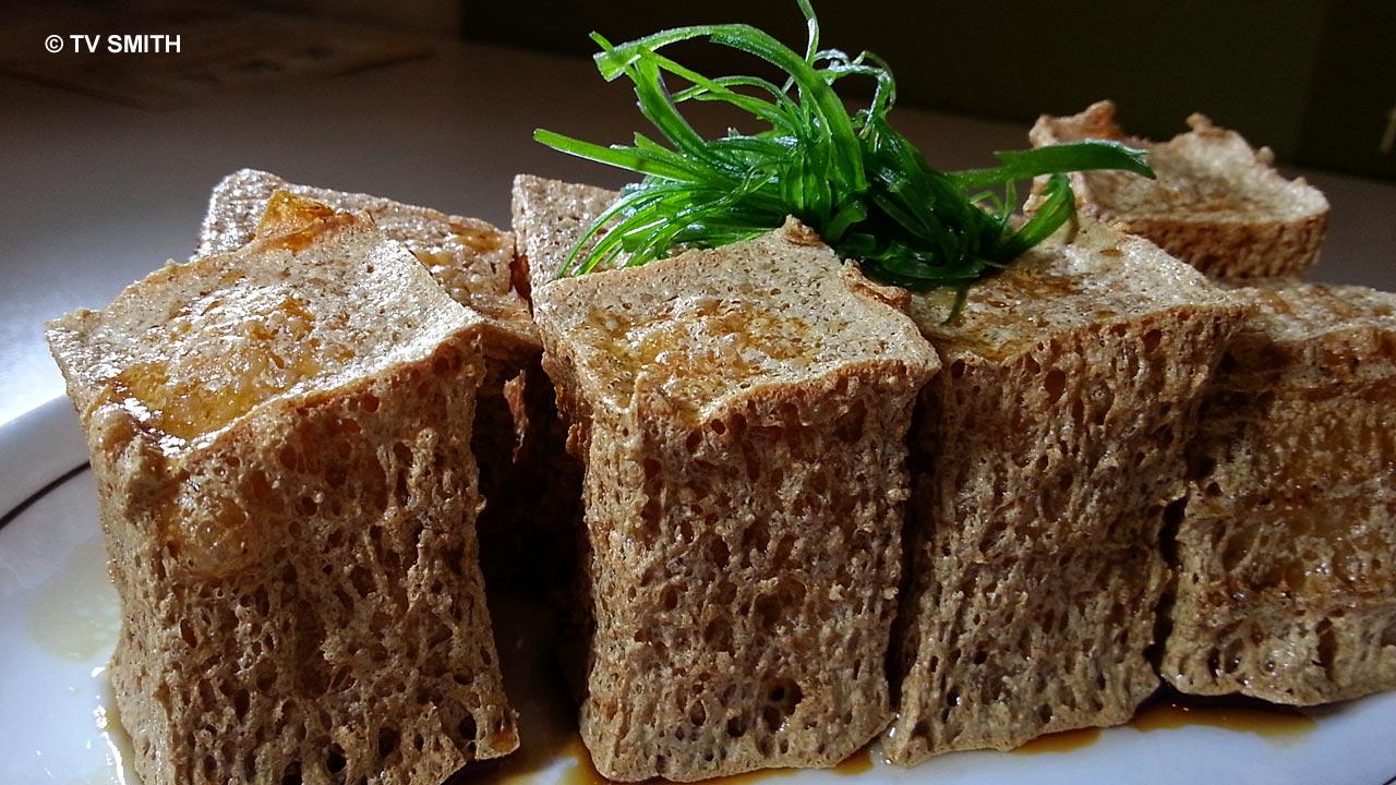 Edible Contradiction: Lameeya's Healthy Fried Tofu
