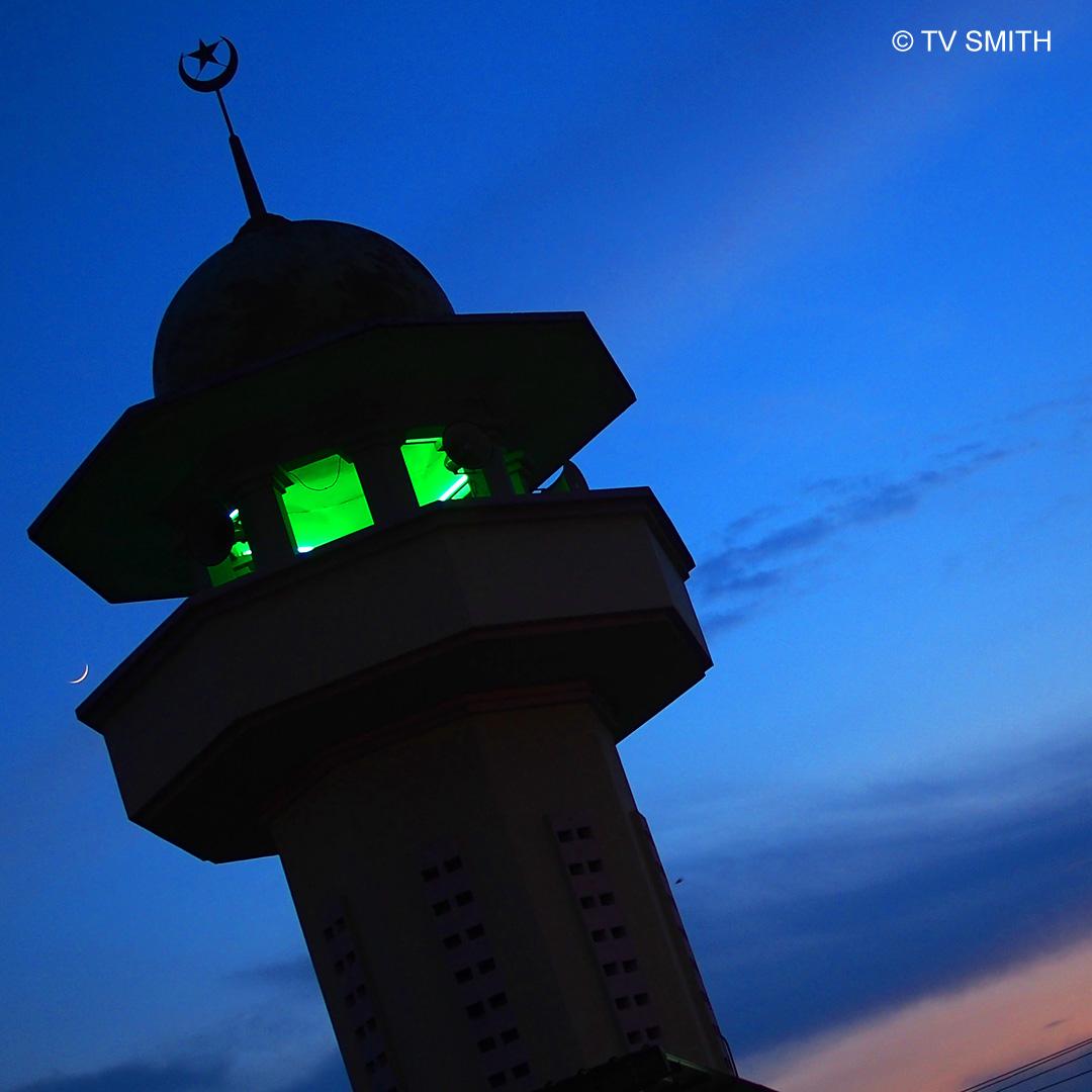 Moonrise Over Semenyih Mosque