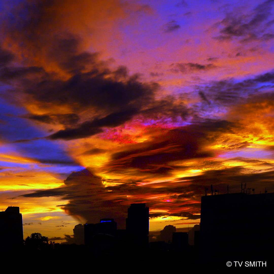Senja Di Kuala Lumpur