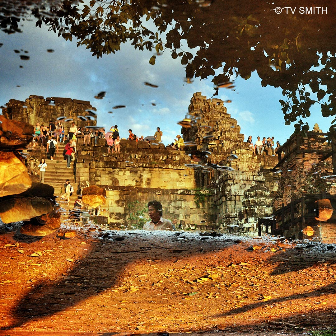 Sunset Hill, Angkor Wat, Cambodia