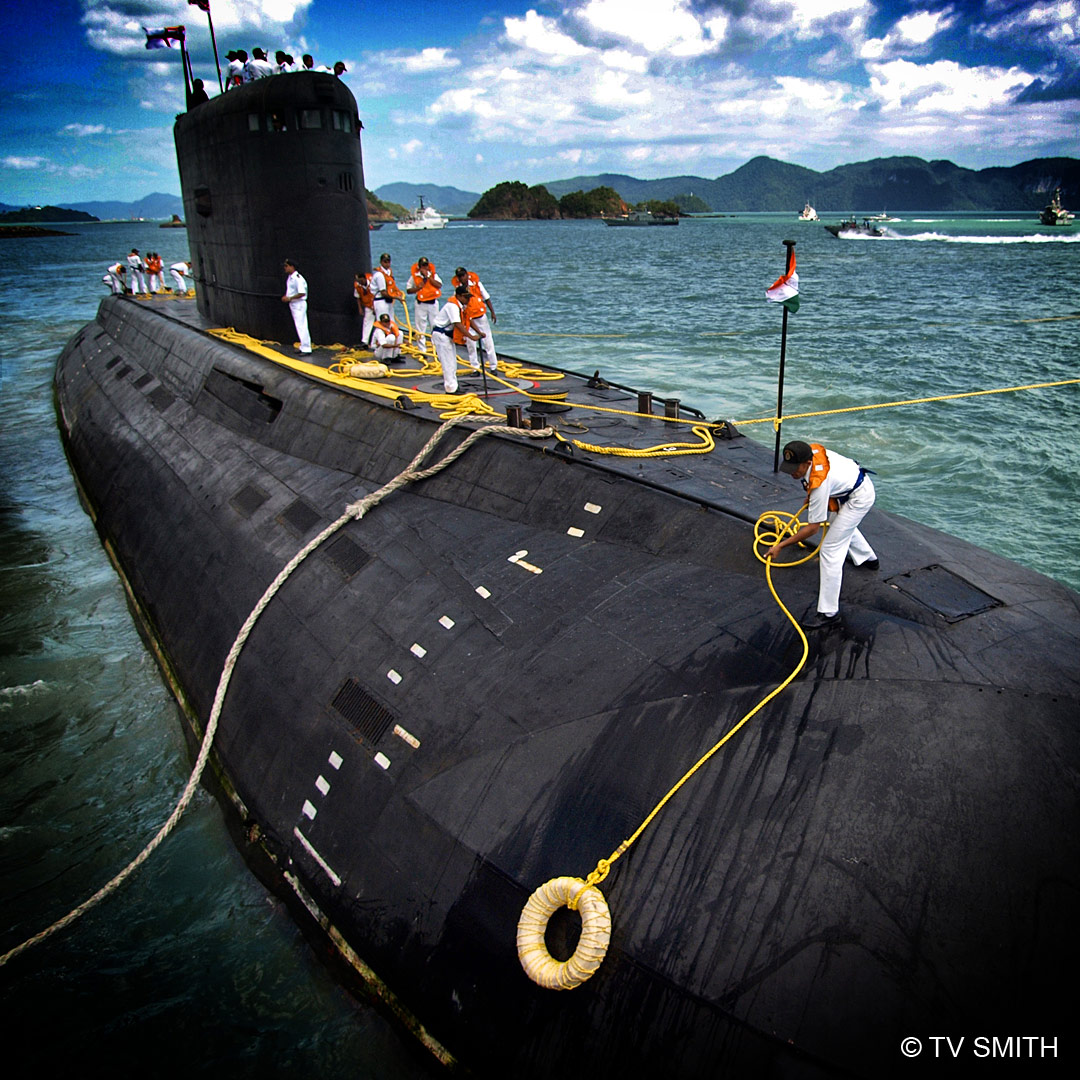 Indian Navy Submarine at Porto Malai