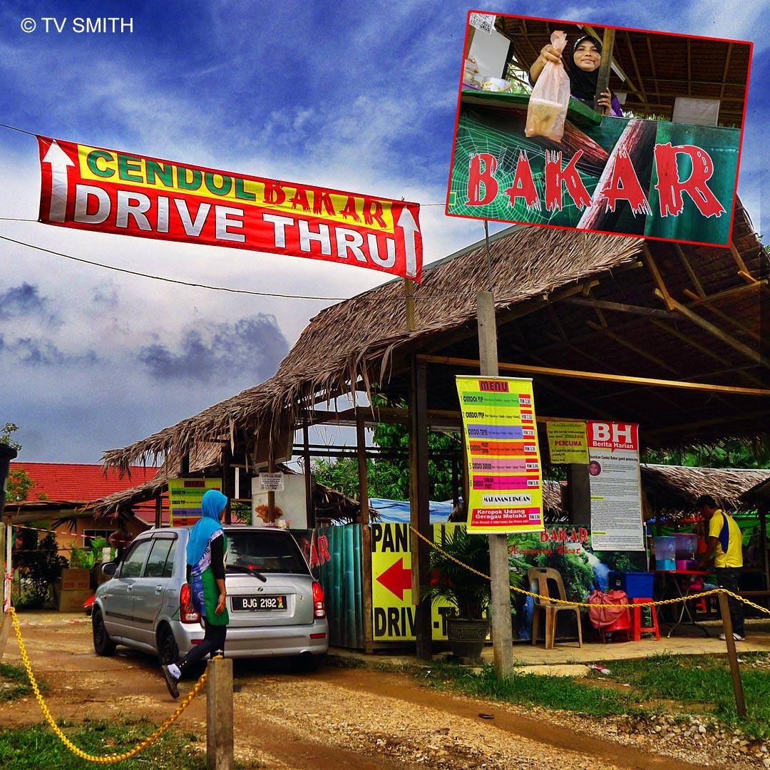 Cendol Bakar Drive-Thru, Kuala Selangor
