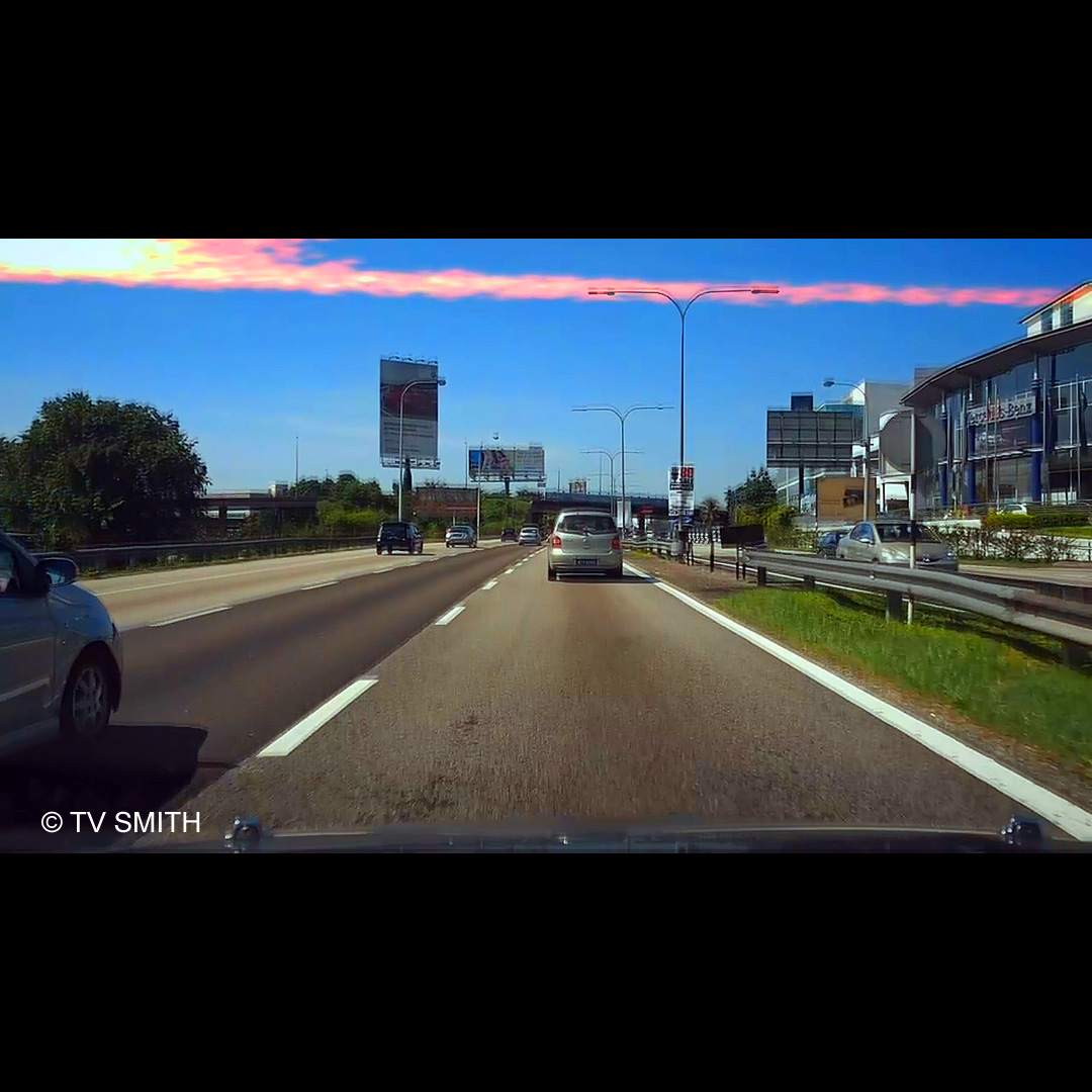 Meteor Over Federal Highway
