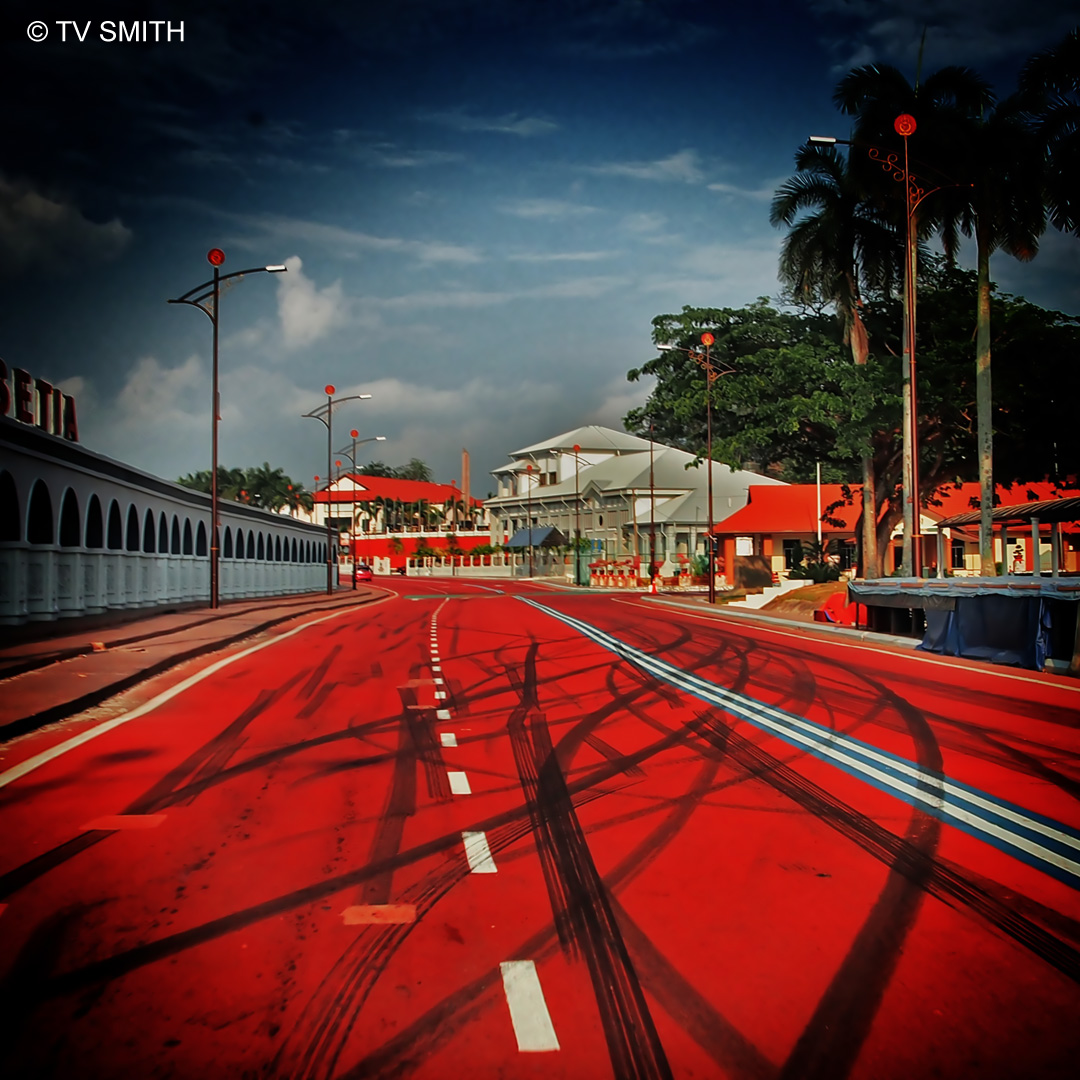 Red Road Of Our Army Town