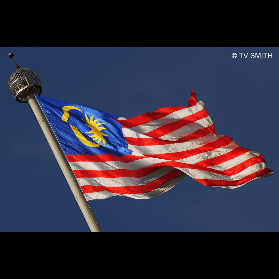 Merdeka! - Flag of Malaysia -Jalur Gemilang