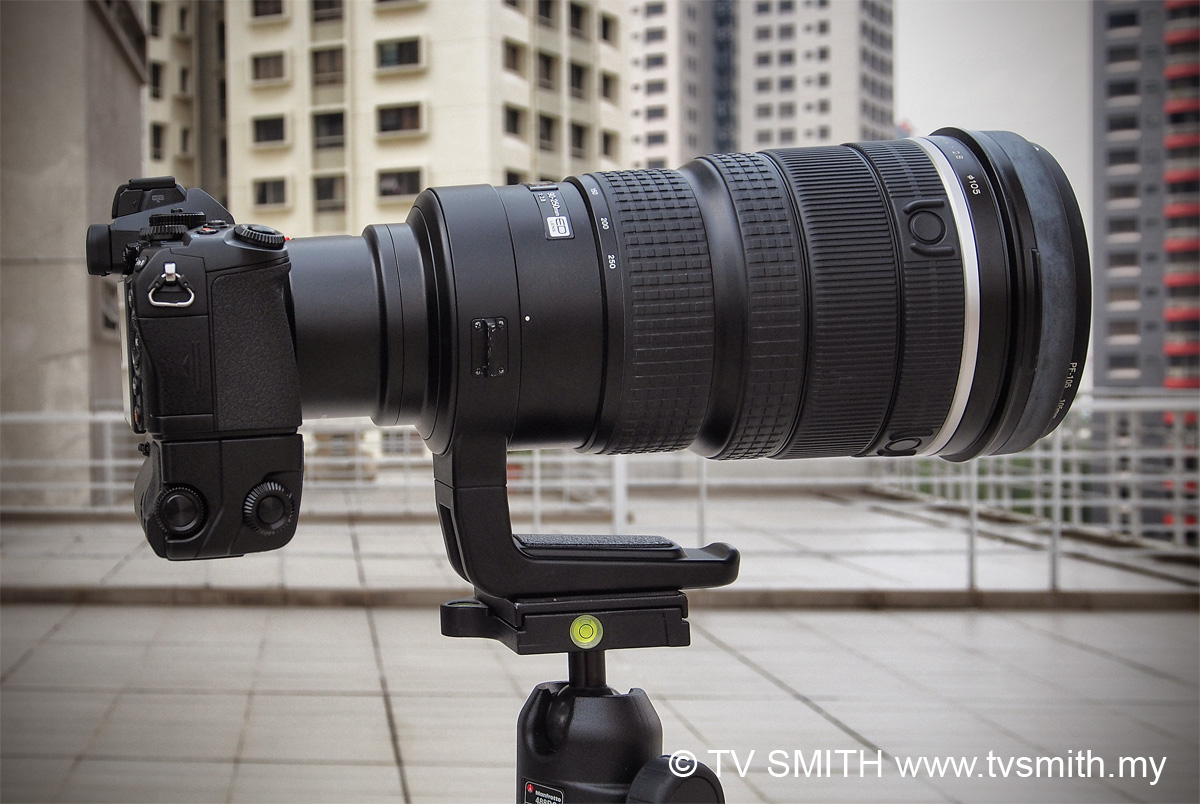 Olympus OM-D EM-1 paired with the Four Thirds 300mm f2.8