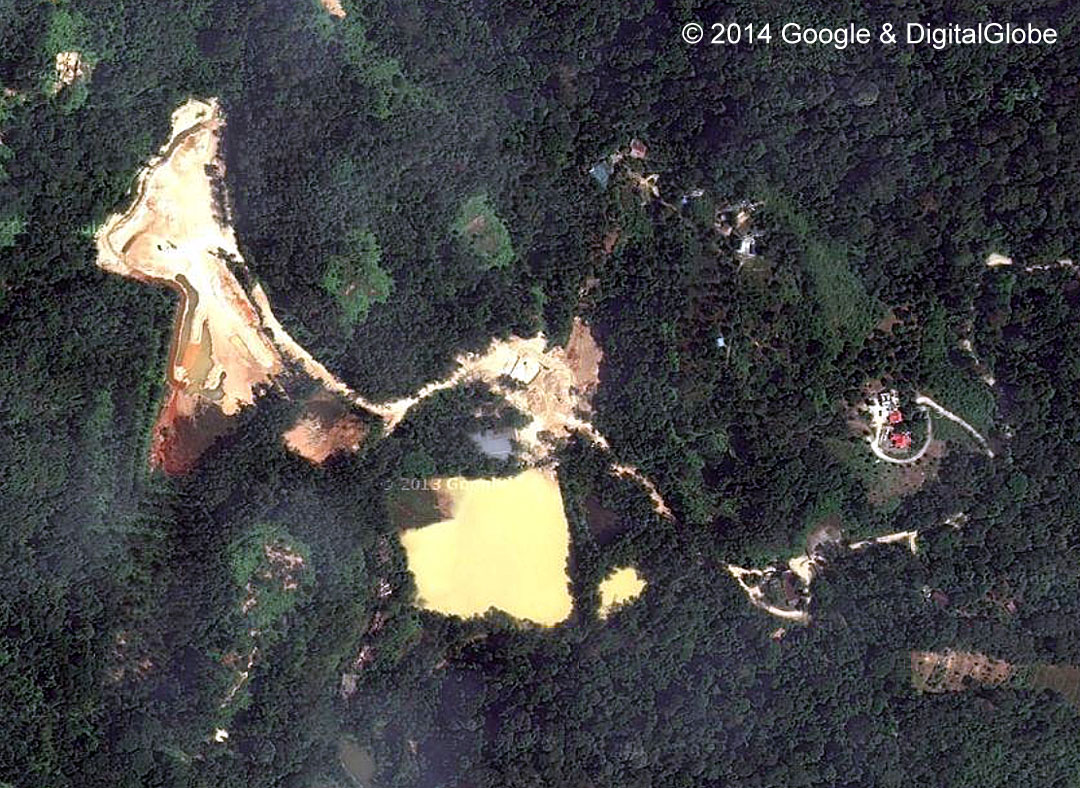 Mimaland Satelitte / Aerial View from Google Map